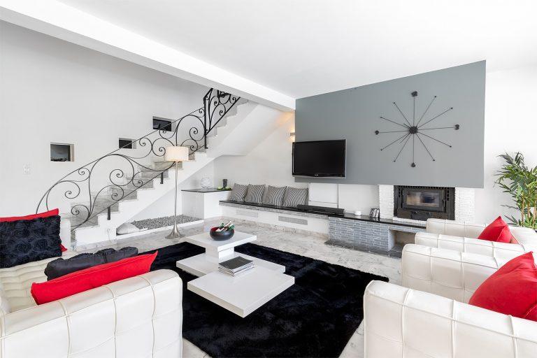Salon villa Antibes